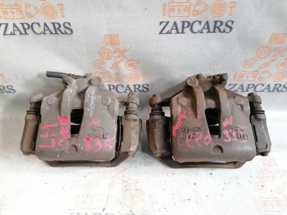 Тормозной суппорт Kia Ceed ED передний (б/у)
