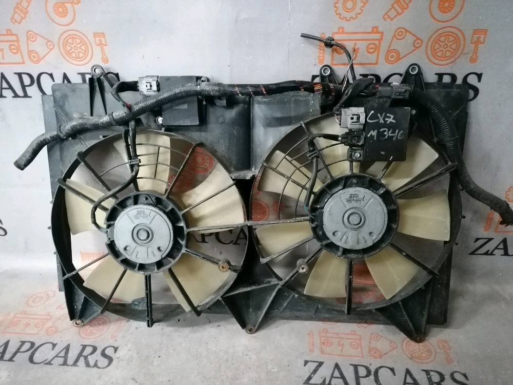 Вентилятор радиатора Mazda Cx-7 L3-VDT (б/у)