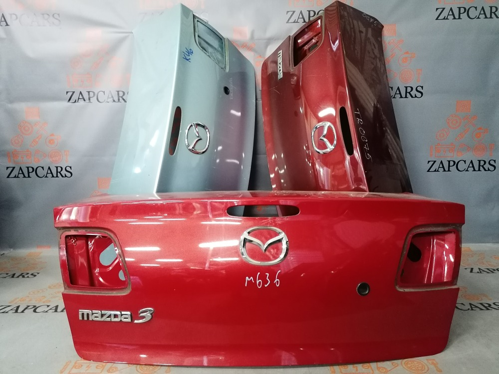 Крышка багажника Mazda 3 BK (б/у)