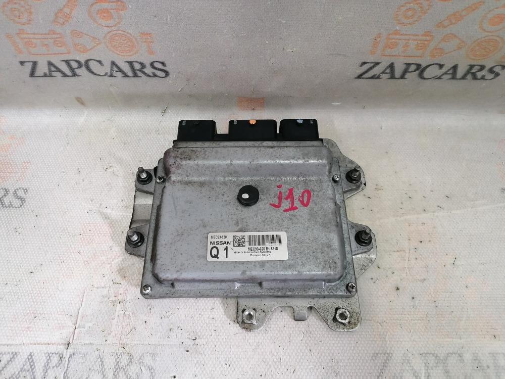 Блок управления двигателем Nissan Qashqai J10 1.6 (б/у)
