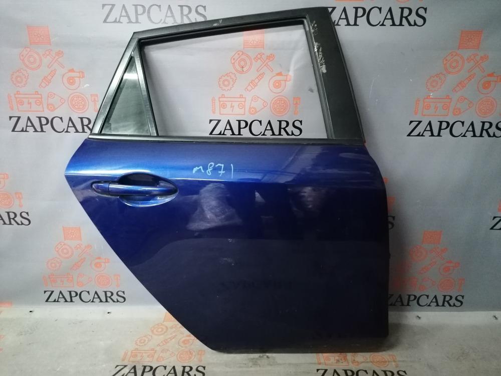 Дверь Mazda 3 BL задняя правая (б/у)