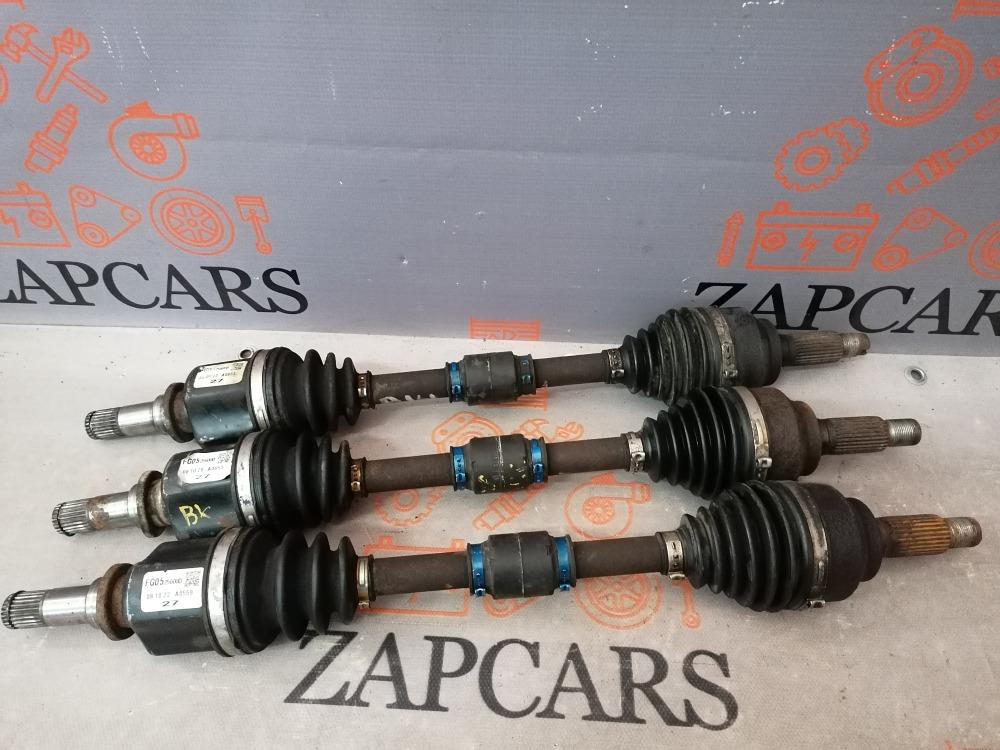 Привод мкпп Mazda 3 BK BL 1.6 левый (б/у)