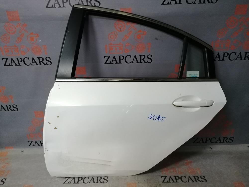 Дверь (седан) Mazda 6 GH задняя левая (б/у)