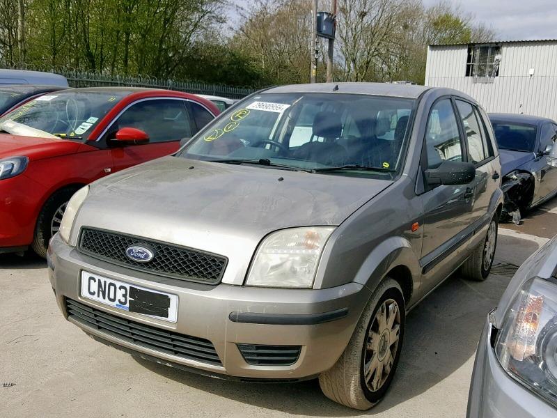 Автомобиль Ford Fusion 1 1.4L DURATEC 16V EFI DOHC 2002 года в разбор