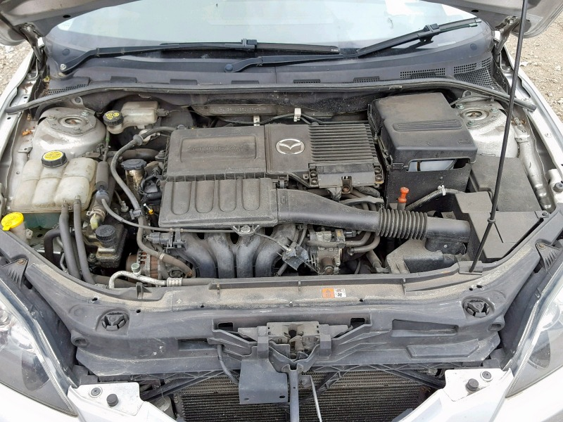 Автомобиль Mazda 3 BK Z6 2007 года в разбор