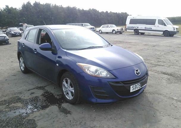 Автомобиль Mazda 3 BL Z6 2009 года в разбор