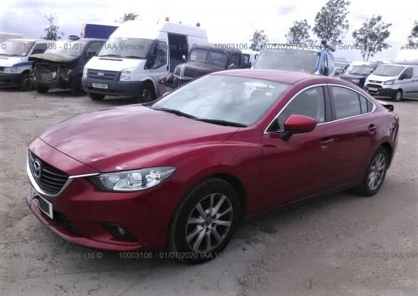 Автомобиль Mazda 6 GJ 2013 года в разбор