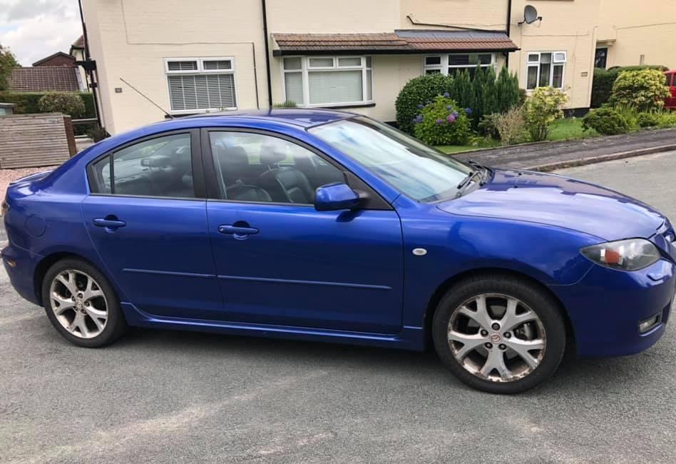 Автомобиль Mazda 3 BK 2007 года в разбор