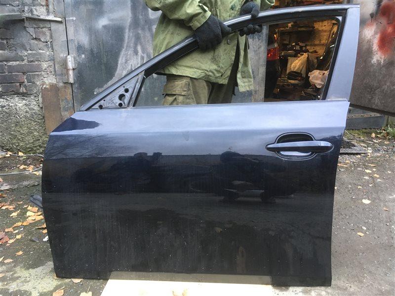 Дверь Bmw 5-Series (E 60) E60 N52B25A 2006 передняя левая (б/у)