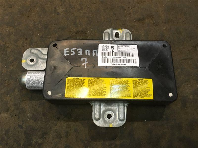 Подушка безопасности Bmw X5 (E 53) E53 M62B44TU 2000 передняя правая (б/у)