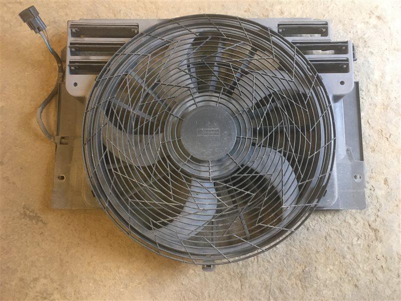 Вентилятор кондиционера Bmw X5 (E 53) E53 M62B44TU 2000 (б/у)