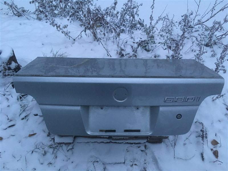 Крышка багажника Bmw 5-Series (E 39) E39 M54B30 2001 (б/у)