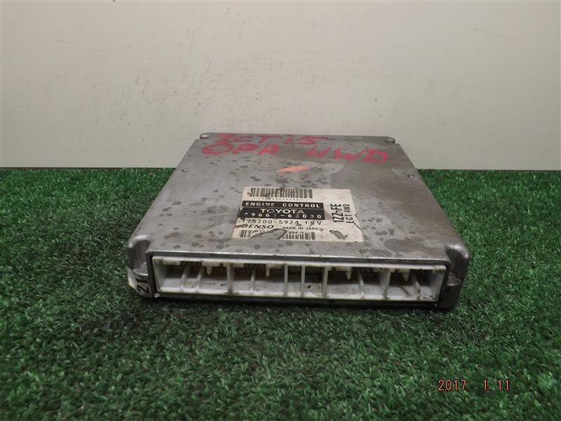 Блок управления двс Toyota Opa ZCT15 1ZZ-FE 2000 (б/у)