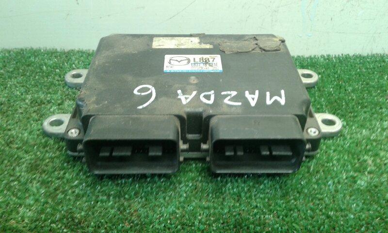 Блок управления двс Mazda 6 GH L8 (б/у)