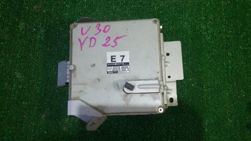 Блок управления двс Nissan Presage VU30 YD25DDT 1999 (б/у)