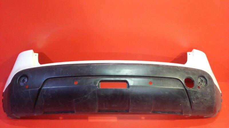 Бампер Nissan Qashqai J10 MR20DE 2006 задний (б/у)