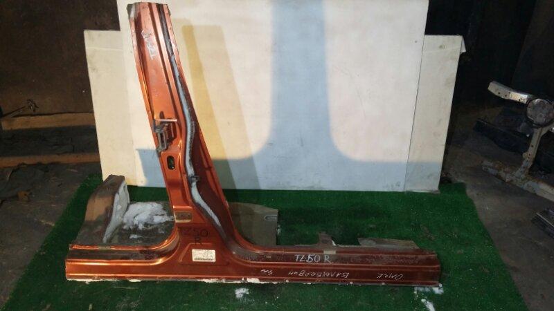 Порог Nissan Murano PNZ50 QR25DE 2002 правый (б/у)