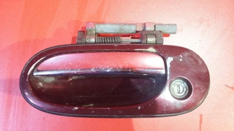 Ручка двери внешняя Nissan Bluebird Sylphy FG10 QG18DE 2000 передняя левая (б/у)