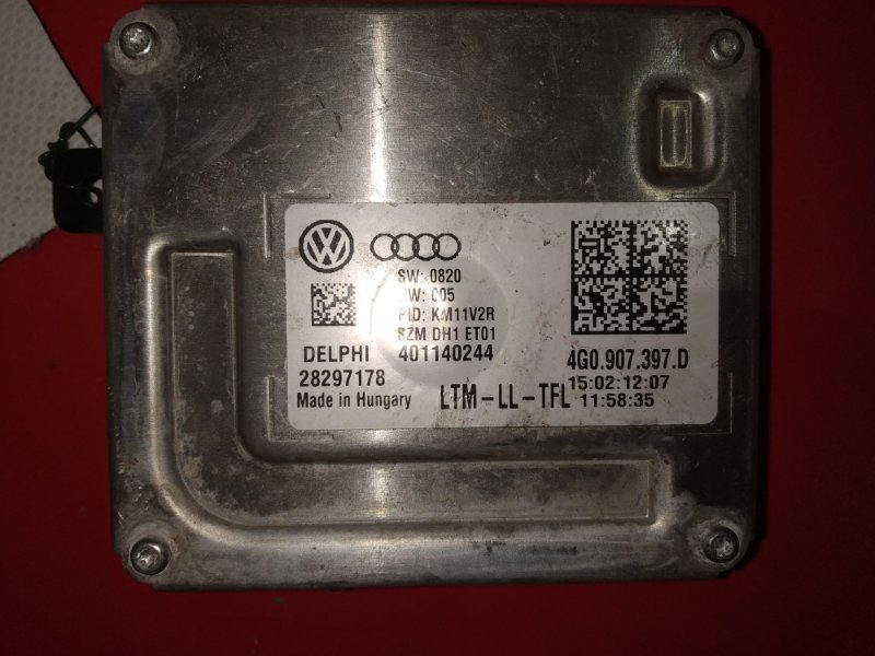 Блок розжига Audi A6 C7 CGLC 2010 (б/у)