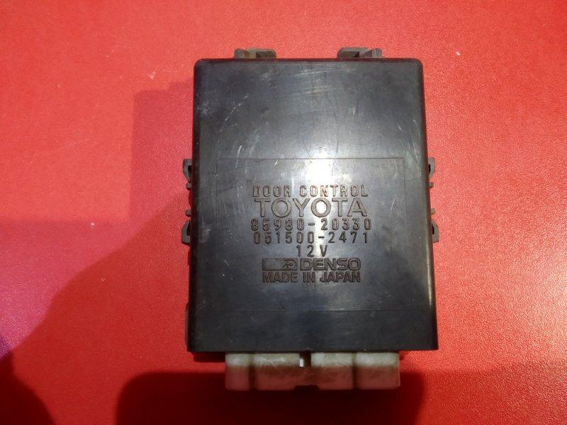 Блок управления дверьми Toyota Carina AT190 2C 1992 (б/у)