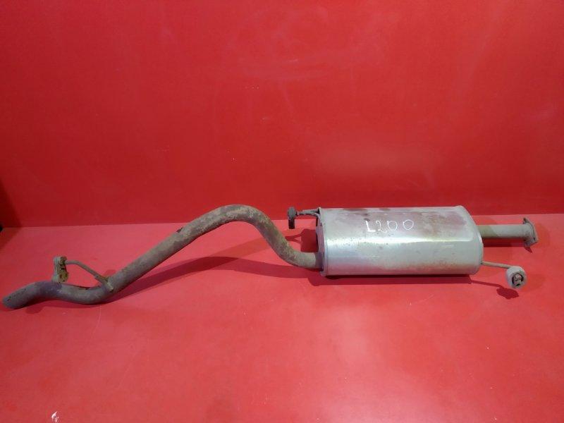 Глушитель Mitsubishi L200 KB4T 4D56T 2007 (б/у)