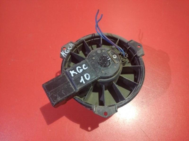 Мотор печки Toyota Passo KGC10 1KR-FE 2004 (б/у)
