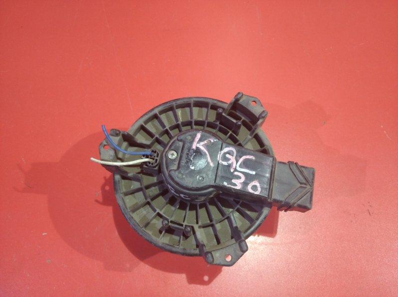 Мотор печки Toyota Vitz KSP90 1KRFE 2005 (б/у)