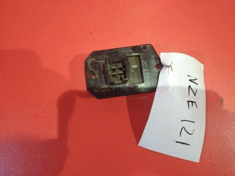 Реостат печки Toyota Vitz KSP90 1KRFE 2005 (б/у)
