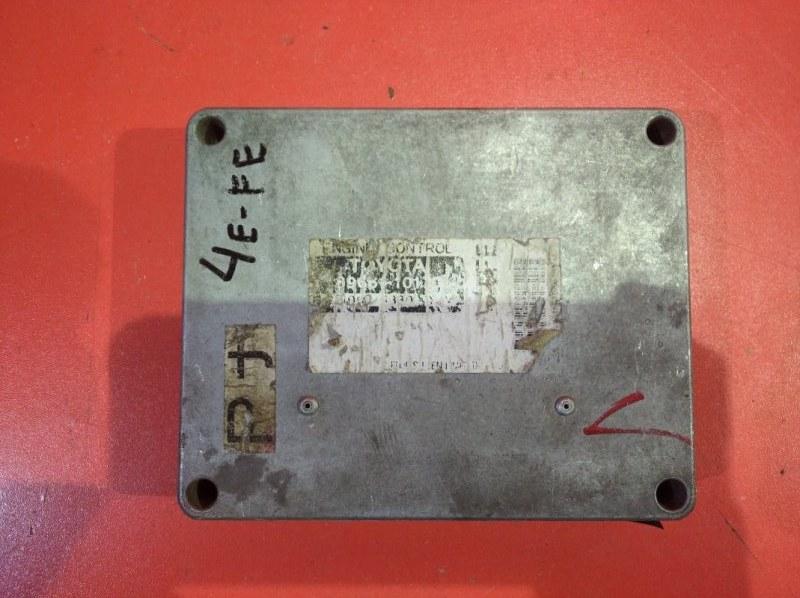 Блок управления двс Toyota Starlet EP91 4EFE (б/у)