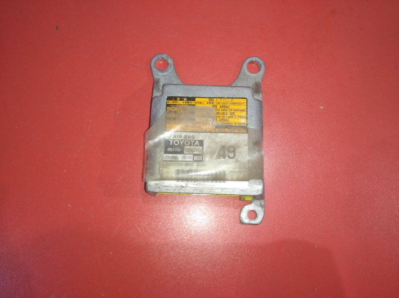 Блок управления airbag Toyota Wish ANE10G 1ZZ-FE 2003 (б/у)