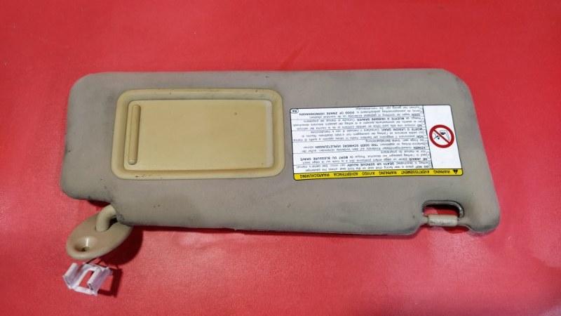 Козырек солнцезащитный Lexus Is 250 GSE20 4GR-FSE 2005 передний правый (б/у)