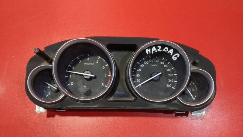 Щиток приборов Mazda 6 GH LF 2007 (б/у)