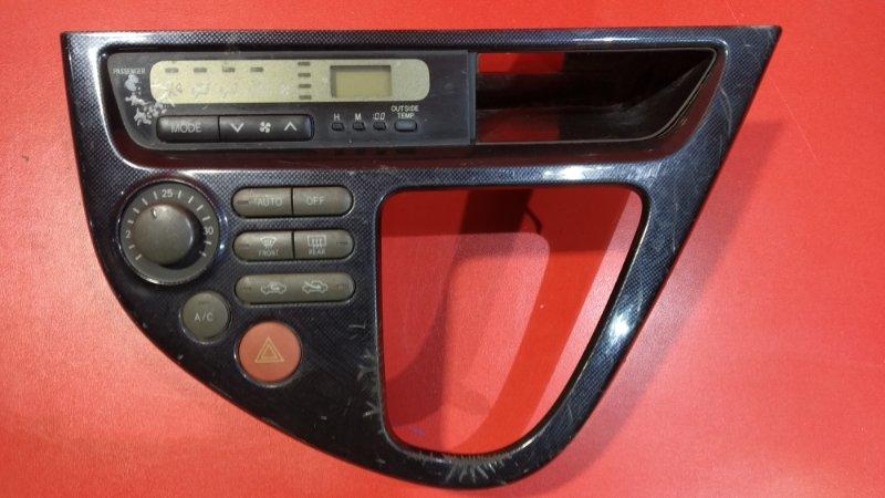 Блок управления климат-контролем Toyota Wish ANE10G 1ZZ-FE 2003 (б/у)