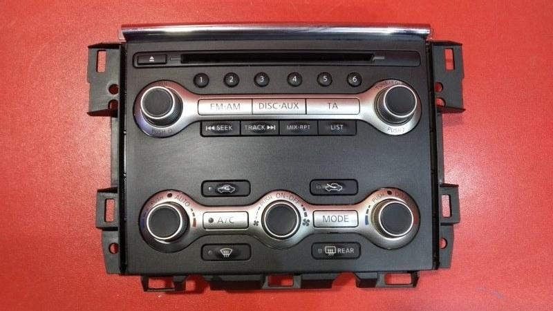 Блок управления климат-контролем Nissan Murano Z51 VQ35DE 2010 (б/у)