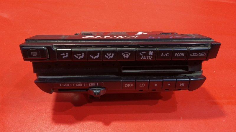 Блок управления климат-контролем Toyota Carina AT190 3S-FE 1992 (б/у)