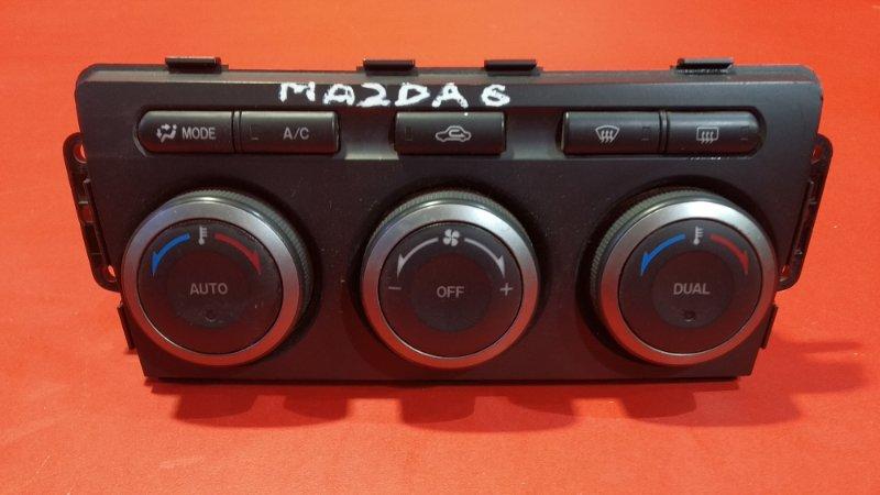 Блок управления климат-контролем Mazda Mazda6 GH L813 2007 (б/у)