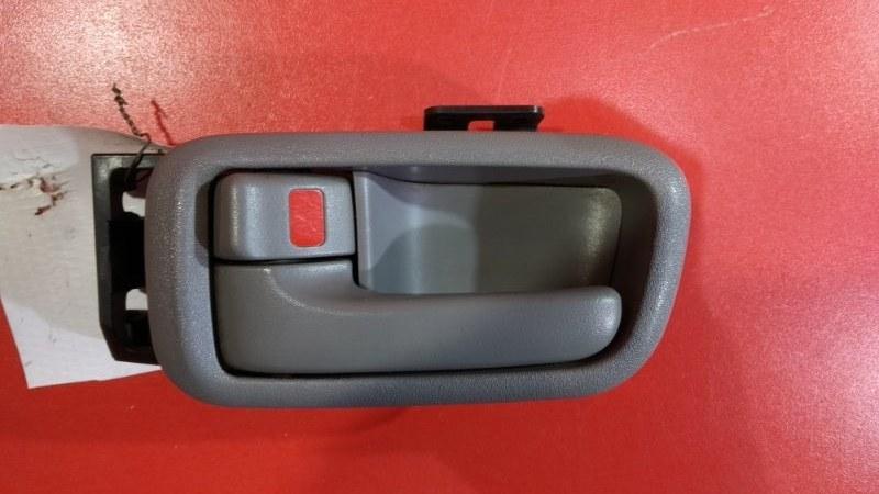 Ручка двери внутренняя Toyota Land Cruiser FZJ100 1FZFE 1998 задняя левая (б/у)