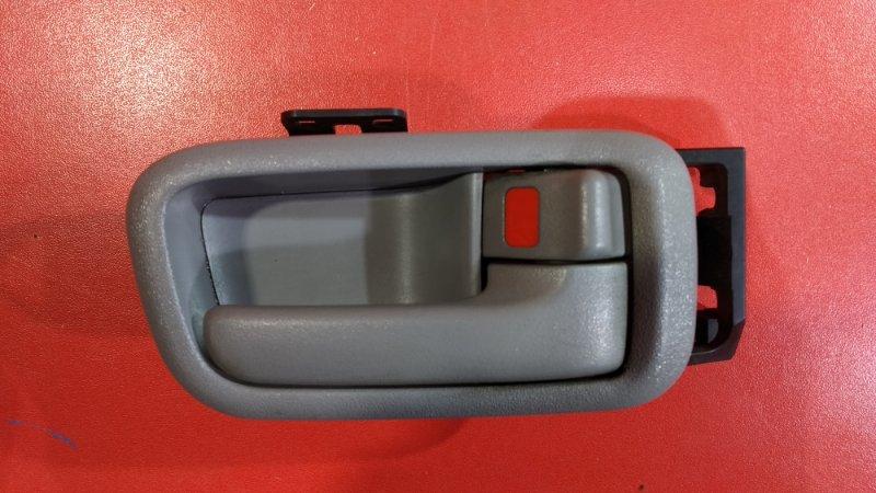 Ручка двери внутренняя Toyota Land Cruiser FZJ100 1FZFE 1998 задняя правая (б/у)