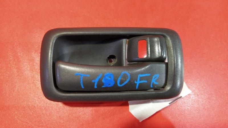 Ручка двери внутренняя Toyota Carina ST180 3SFE 1989 передняя правая (б/у)