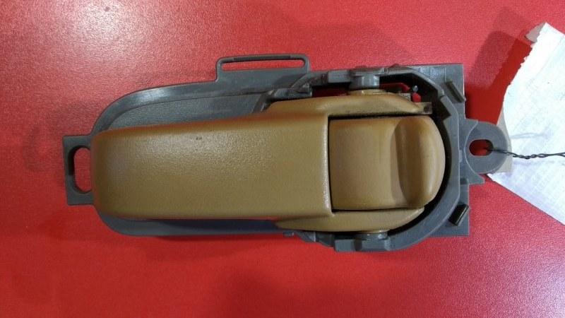 Ручка двери внутренняя Nissan March AK12 2002 передняя правая (б/у)