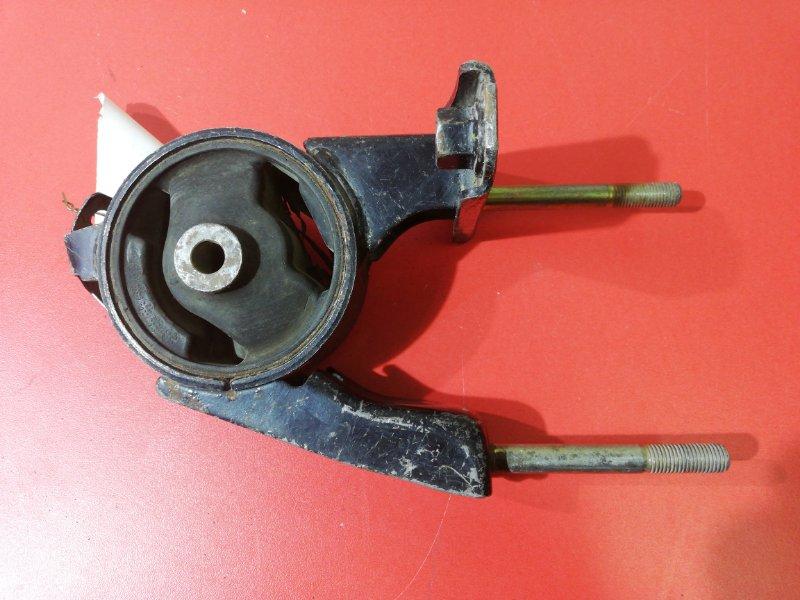 Подушка двигателя Toyota Ist NCP60 1NZFE 2001 задняя (б/у)