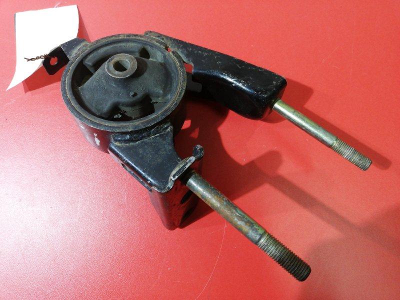 Подушка двигателя Toyota Porte NNP10 1NZFE 2001 задняя правая (б/у)