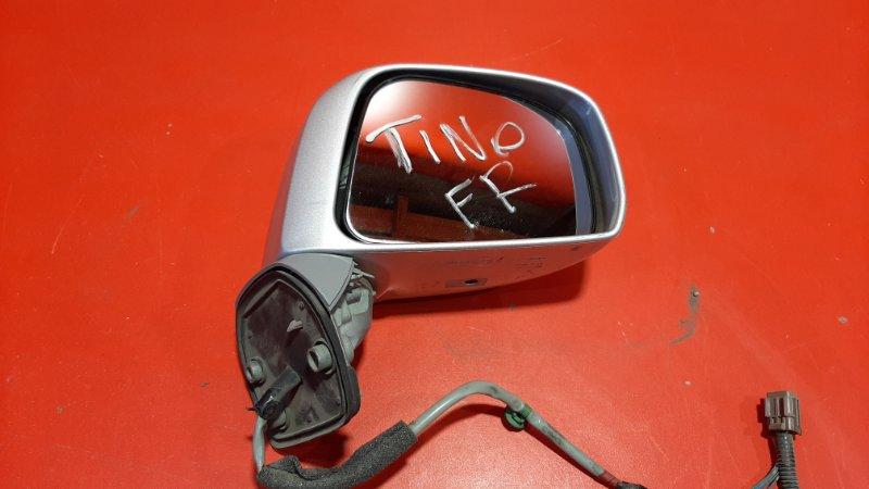Зеркало Nissan Tino HV10 QG18DE 1998 правое (б/у)