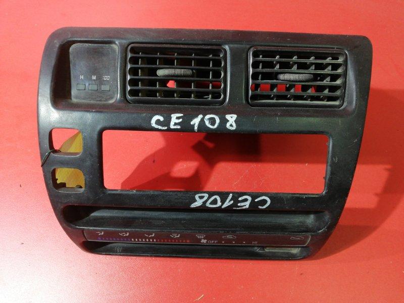 Накладка консоли центральная Toyota Sprinter AE100 4AFE 1992 (б/у)