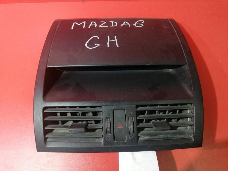 Накладка на торпедо Mazda Mazda6 GH L813 2007 (б/у)