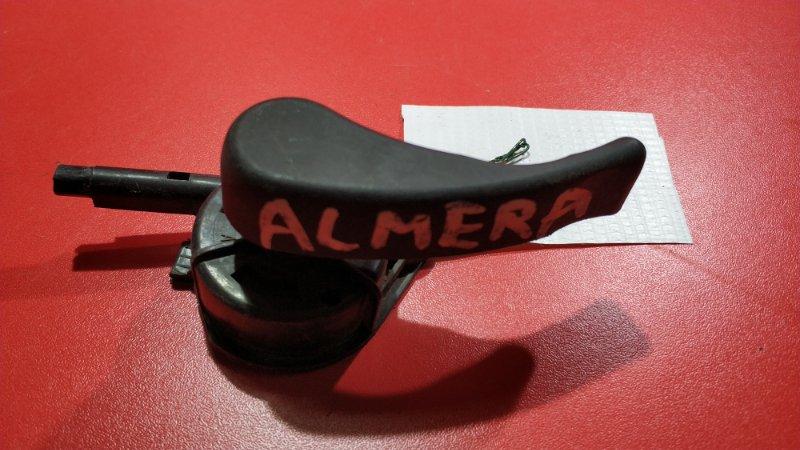 Ручка открытия капота Nissan Almera G15 K4M 2012 (б/у)