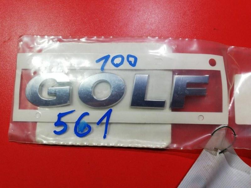 Эмблема Volkswagen Golf Vii 5G1 CHHA 2012 задняя (б/у)