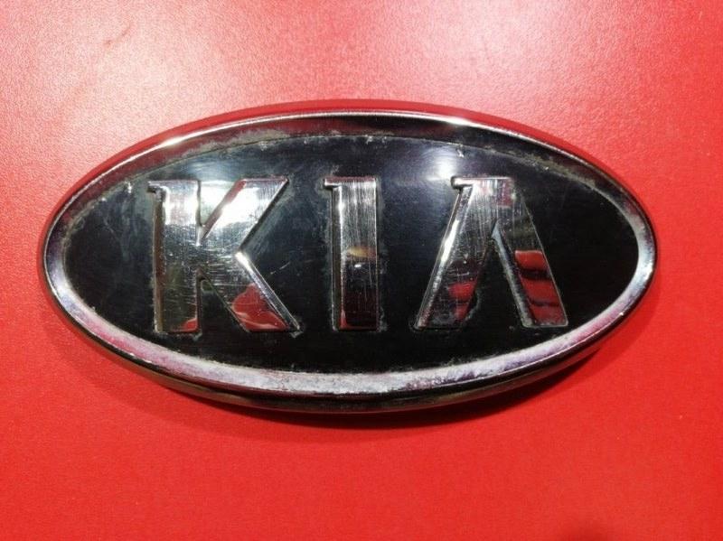 Эмблема Kia Soul AM D4FB 2008 задняя (б/у)