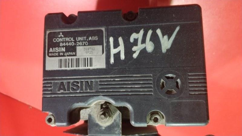 Блок abs Mitsubishi Pajero Io H76W 4G93 1998 (б/у)