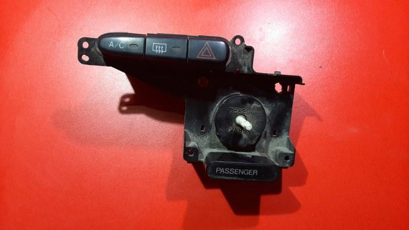 Блок управления климат-контролем Toyota Probox NCP51 1NZFE 2001 (б/у)